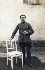 Georges PETITCLERC adressée de Grafenwohr le 05121916 à Léopold BEFORT recto - collection Eliane Escot