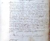 Mariage de Marianne Mathieu avec Jean-Laurens Jean (De La Charce) qui abjure