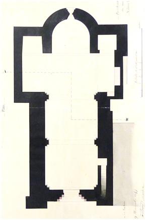 Plan de l'architecte Epailly (1846)