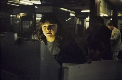 Madonna of the ticket machines, années 1980.