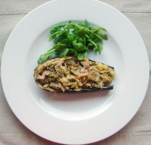 aubergines farcies aux puntalette