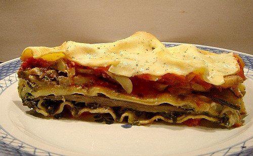 lasagne aux légumes