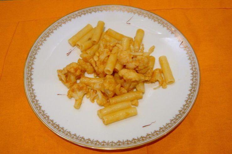 macaronis au chou-fleur