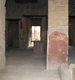 maison du garum à Pompéi