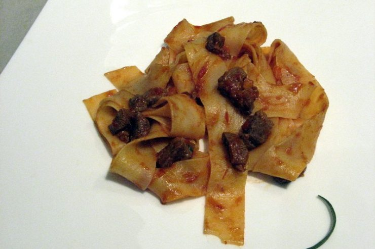 pappardelle au canard