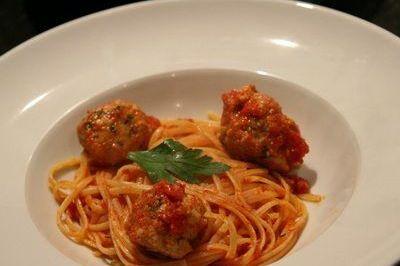 spaghetti auxboulettes