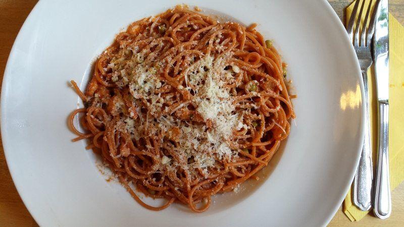 Spaghetti del contadino