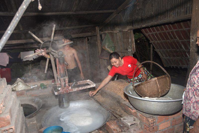 fabrication artisanale de nouilles