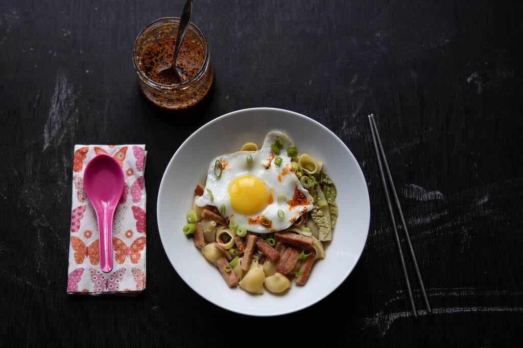 Soupe aux macaronis et Spam