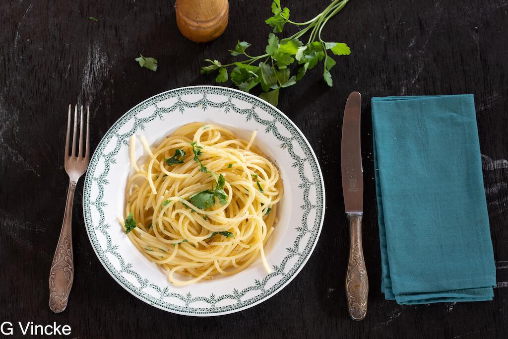 Spaghetti bordelaise