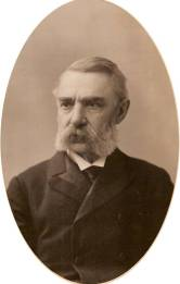 Avocat de profession, Charles Carroll Colby a aussi été député de la circonscription fédérale de Stanstead. Photo tirée du fonds d'archives Colby conservé à la Société historique de Stanstead.