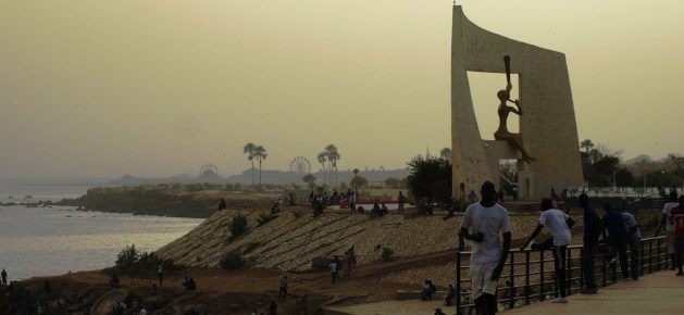 Porte du Troisième Millénaire à Dakar. Crédits : Pascal Scallon-Chouinard.