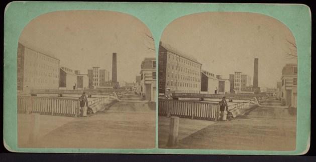 La Suffolk Manufacturing Compagny, endroit où la force de travail et les exploits de Louis Cyr étaient connus et racontés.