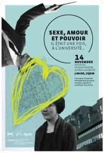 L'affiche du colloque, une création de Mireille Laurin Burgess.