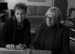Sylvia Federici et Louise Toupin. Photo : J. Keable