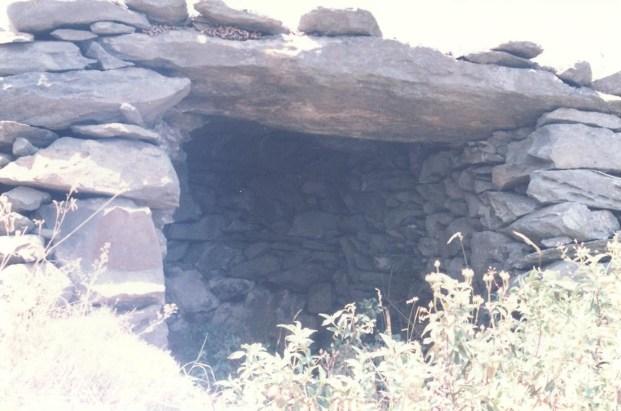 Sentier panoramique des cabanes. A quelques mètres de la cabane double.