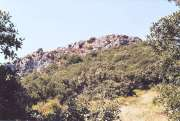 Carlès, site du four à chaux.