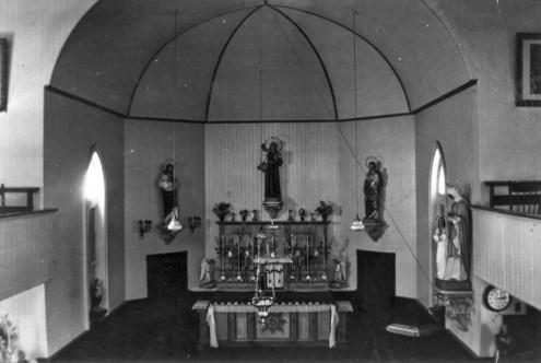Intérieur de l'église avant les travaux
