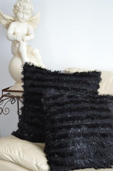 Histoires de Couture - Workshop : Kussensloop in fluffy imitatiebont.