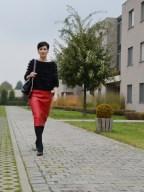 Histoires de Couture - Naaitips : Een kokerrok in imitatieleer.