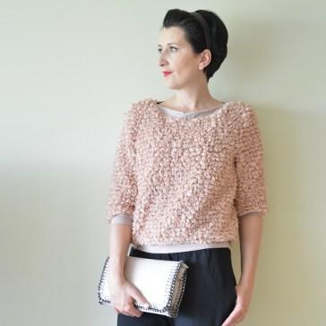 """Histoires de Couture - Winnende Aster trui in """"La Maison Victor"""" - Editie 01/2017"""