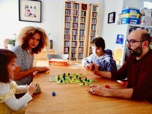 Famille jeux de société