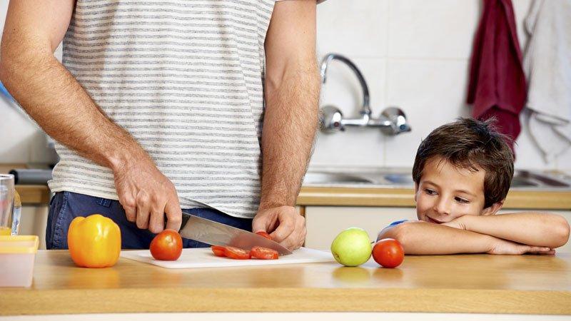 manger bio en famille