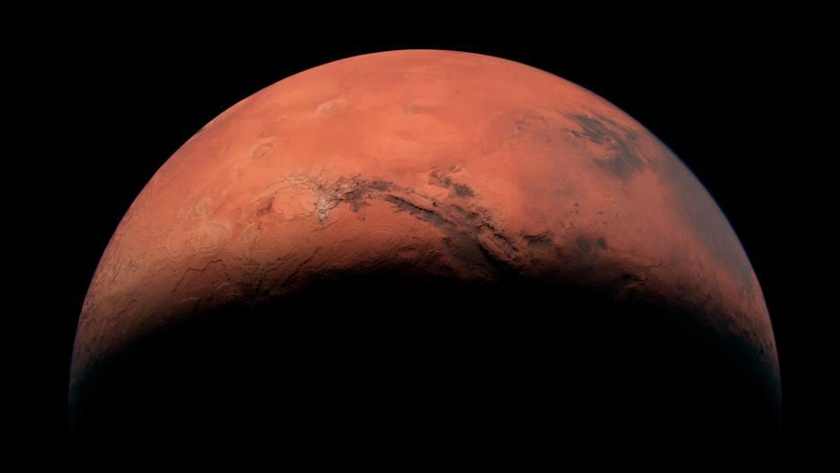 La planète Mars, l'ancienne Terre