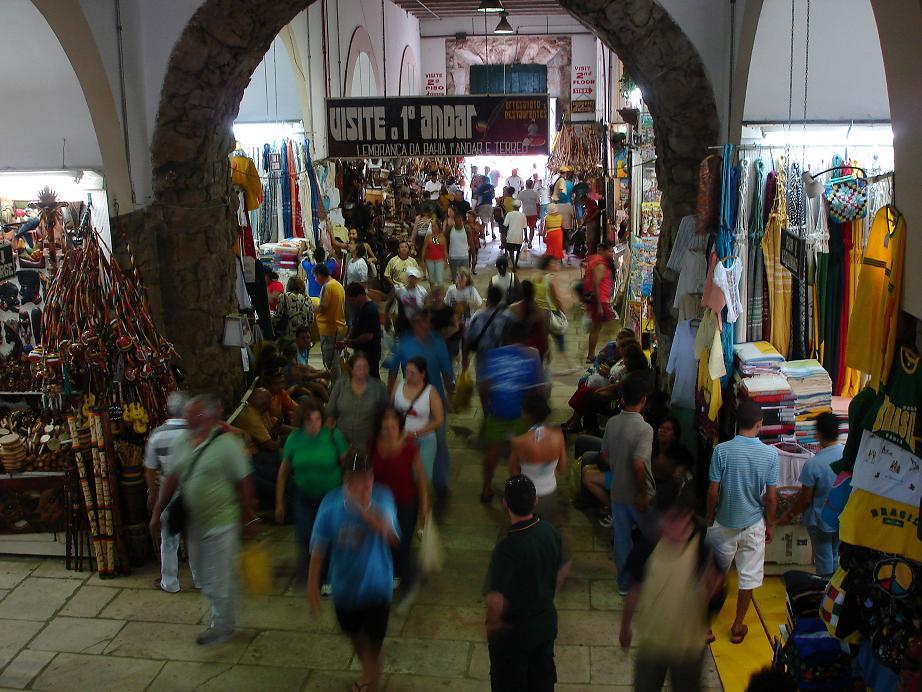 L'intérieur du Mercado Modelo