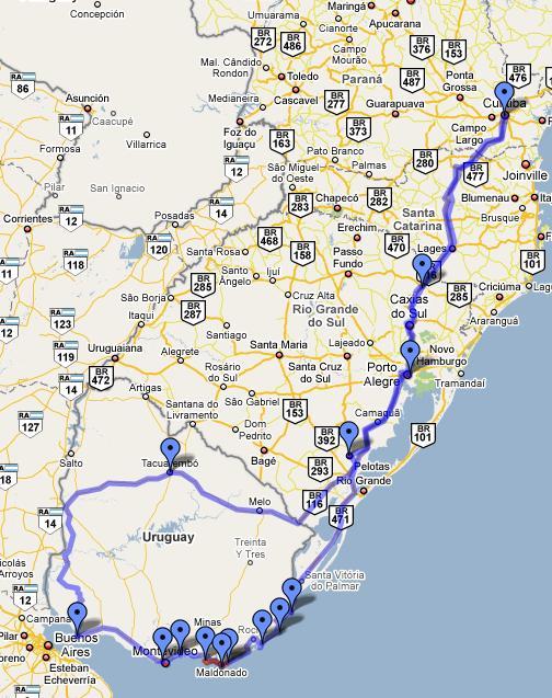 Voyage par Uruguay
