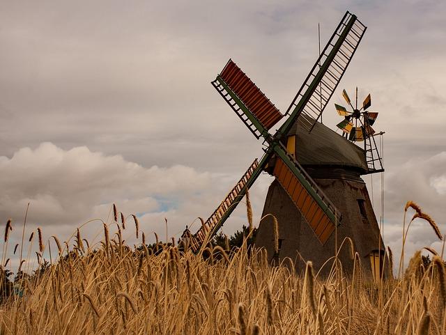 Historia del molino de viento