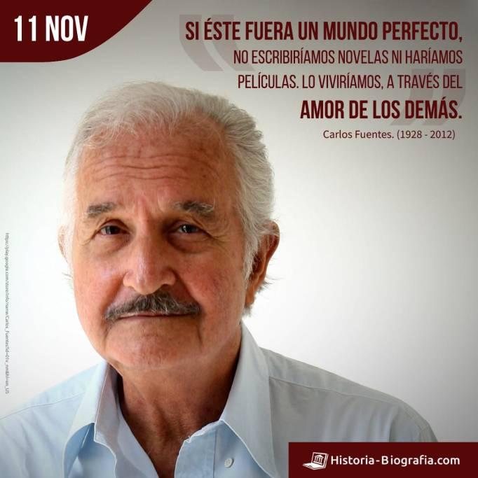 Carlos Fuentes frases
