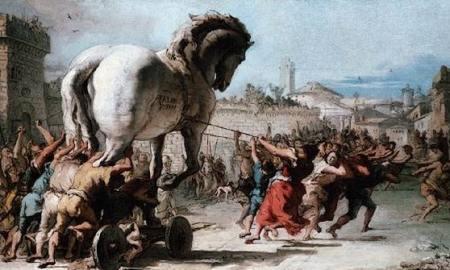 Historia de la Guerra de Troya