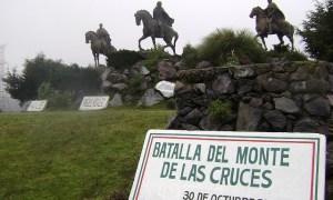 Historia de la Batalla del Monte de las Cruces