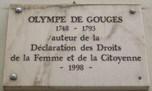 Biografía de Olympe de Gouges