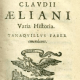 Biografía de Claudio Eliano