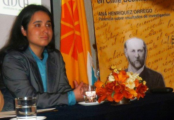 Ana Henriquez Orrego, ponencia 21 oct. en Castillo Wulff