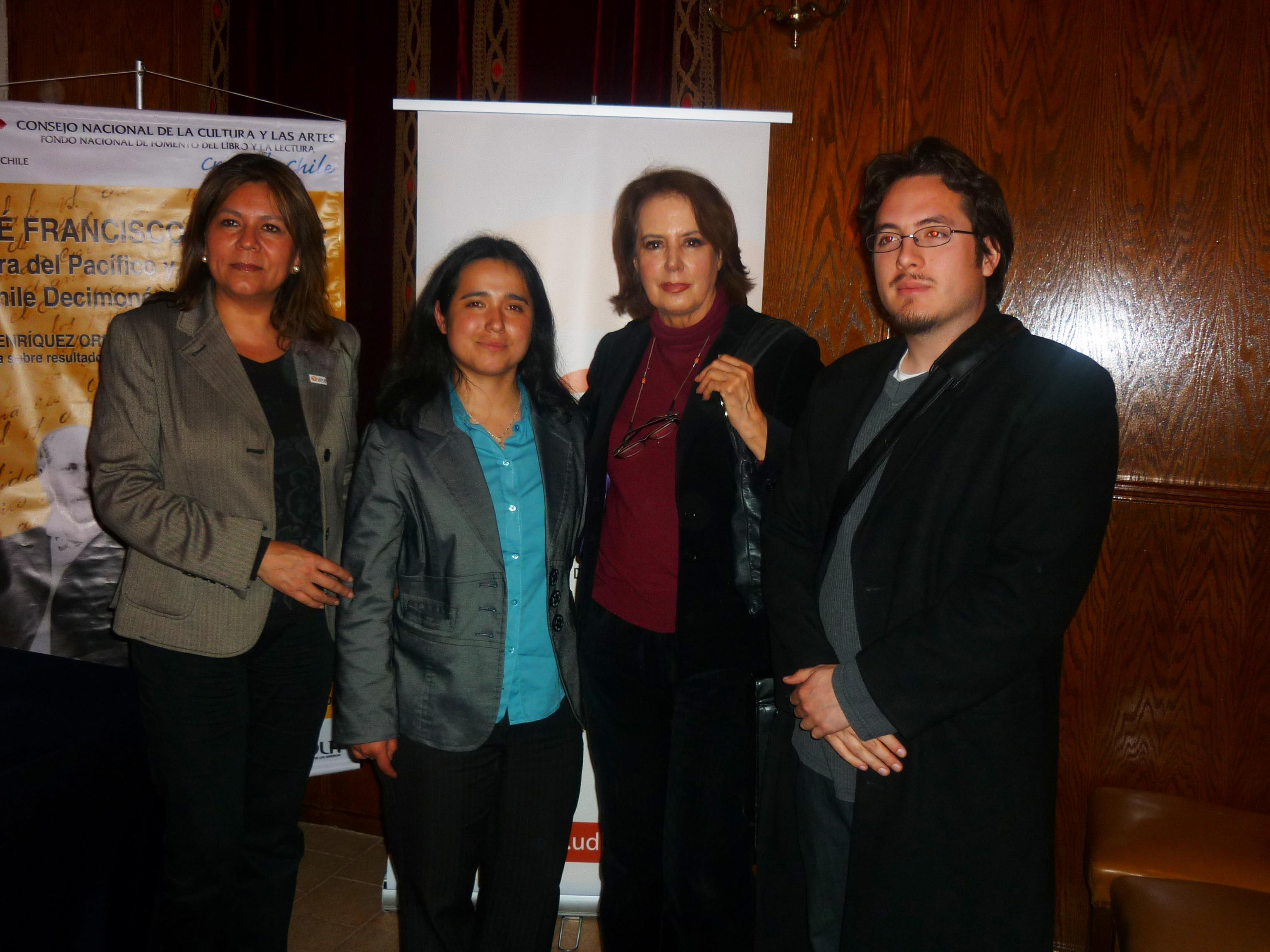 J. Rivera, A. Henriquez, B. Vergara, R. Perez. (21 oct. 2009)