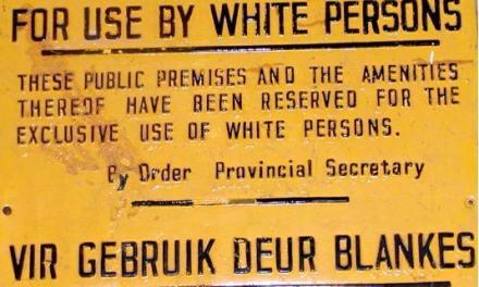 Apartheid: El otro crimen contra la humanidad del negro