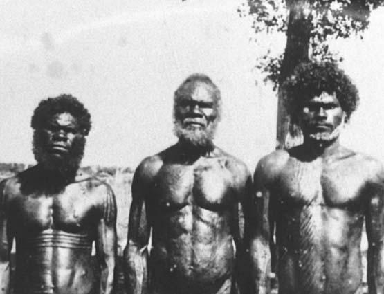 Los primeros pobladores de Australia llegaron de África .