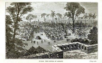 Antiguas ciudades africanas destruidas por los Europeos: Kumasi