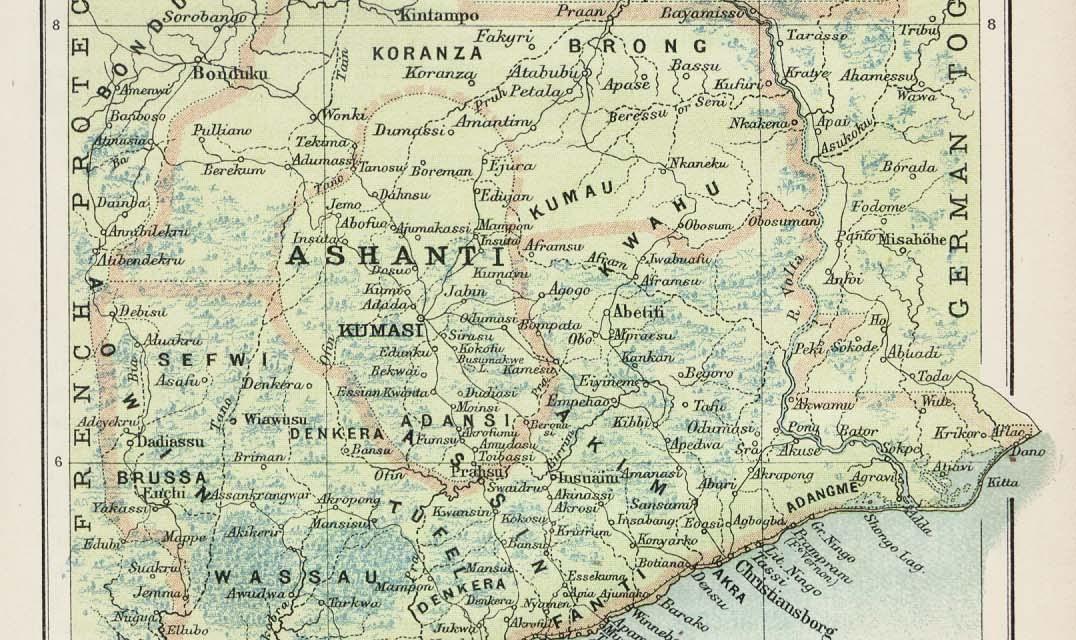 La guerras las Guerras anglo-asante, la resistencia colonial en el país Ashanti