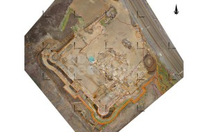 Vista en 3D do Castelo da Rocha / http://geomati-k.com