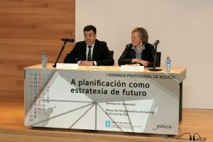 O conselleiro de Cultura, Román Rodríguez, durante a inauguración da I Xornada Profesional de Museos / xunta.es