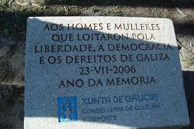 Placa na illa de San Simón en homenaxe aos republicanos detidos na súa prisión / xunta.gal