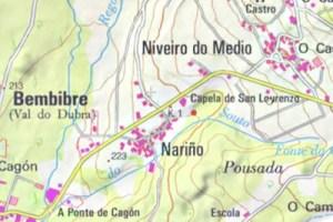 Lugar de Nariño, en Val do Dubra