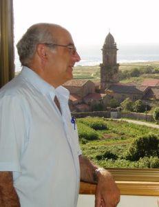 Juan Martínez, impulsor da rehabilitación do Mosteiro de Oia