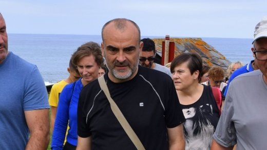 Manuel Miranda, presidente de Mariña Patrimonio e guía para o roteiro da Fonsagrada