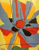 O Sol. 1967. Luís Seoane. Colección privada.