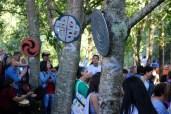 Detalle da festa no Castro Animado / foto HdG